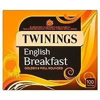 トワイニングイングリッシュブレックファーストティーバッグパックあたり100 (x 6) - Twinings English Breakfast Tea Bags 100 per pack (Pack of 6) [並行輸入品]