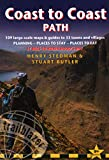 Coast to Coast Path: 109 Large-Scale Walking Maps & Guides to 33 Towns and Villages - Planning, Places to Stay, Places to Eat - St Bees to Robin Hood's Bay (Trailblazer: Coast to Coast)