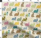 Kaninchen, Hase, Ostern, Verspielt, Neuheit, Patchwork