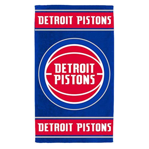 Fanatics NBA Serviette de Plage - Detroit Pistons