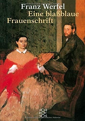 Buchseite und Rezensionen zu 'Eine blassblaue Frauenschrift: Erzählung' von Franz Werfel