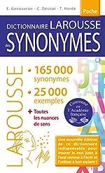 Dictionnaire des synonymes Poche d'Emile Genouvrier