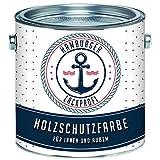 Holzschutzfarbe Farblos Wetterschutzfarbe Aussen klar // Hamburger Lack-Profi (2,5 L)