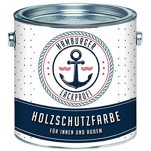 Holzschutzfarbe Schwedenrot Wetterschutzfarbe Aussen // Hamburger Lack-Profi (2,5 L)