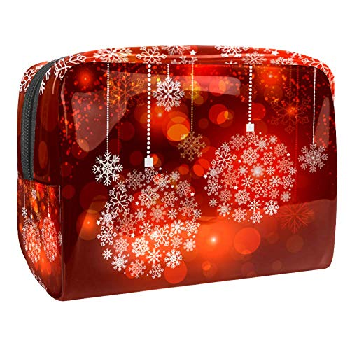 Beautiful Christmas Light Makeup Bag Cosmetic Pouch Travel Organizer Toiletry Clutch