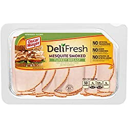 Oscar Mayer Deli Fresh Mesquite Smoked Turkey Breast Lunch Meat (8 oz Package)