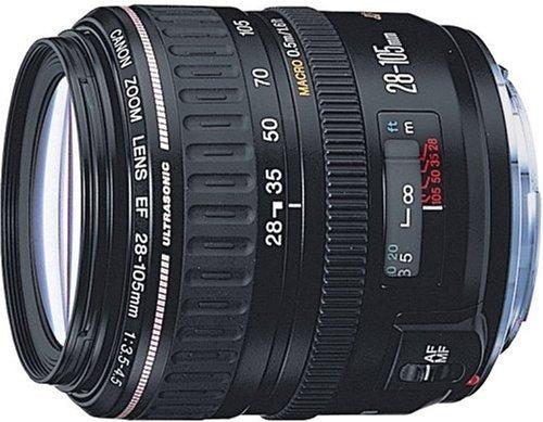 Canon EF 28-105mm f/3.5-4.5 USM - Objetivo (15/12, 28-105 mm, 0,5m, USM, Negro, 7,2 cm)