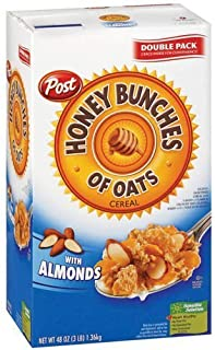 Post Honey Bunches of Oats w/Almonds - 48oz