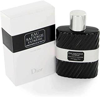 Christian Dior Eau Sauvage Extreme Men Eau de Toilette Intense Spray, 3.4 Ounce