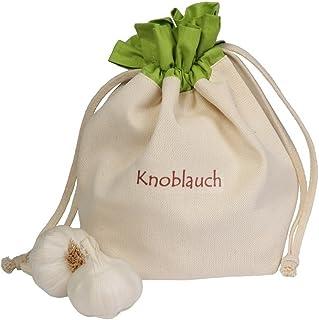 Gemüsebeutel aus Baumwolle, für Knoblauch, praktisch und s