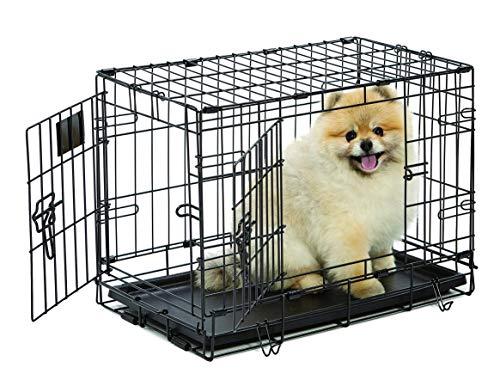 MidWest Homes for Pets Midwest Life Stages Cage Une Porte Pliante pour Chien, 55,88 cm par 33,02 cm par 40,64 cm