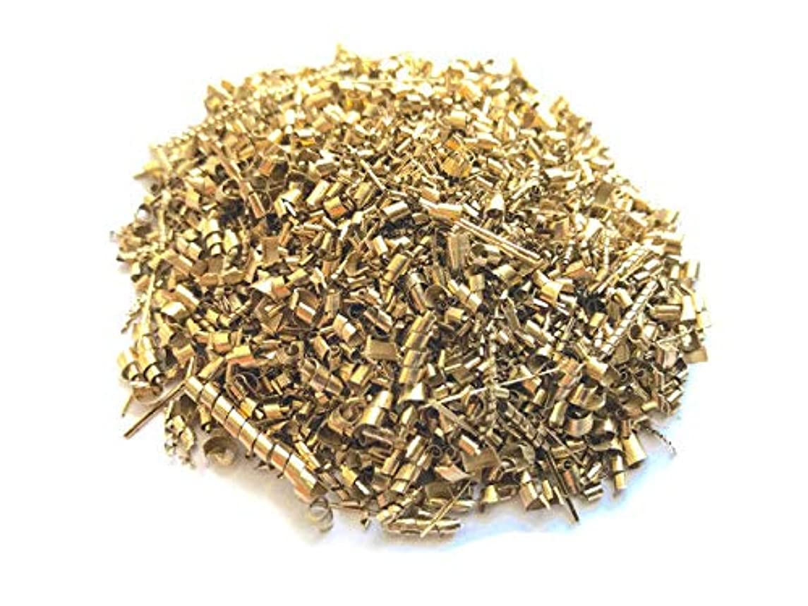 1 Pound 360-Tempered Brass Shavings for Industrial, Science, Chemistry, Healing, Art, Crafts, Chakra, Orgon and Organite Metal Uses