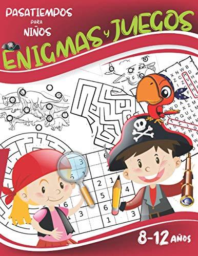 Enigmas y juegos 8-12 años: Rompecabezas y pasatiempos para niños: Encuentra las...