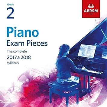Piano Exam Pieces 2017 & 2018, Grade 2