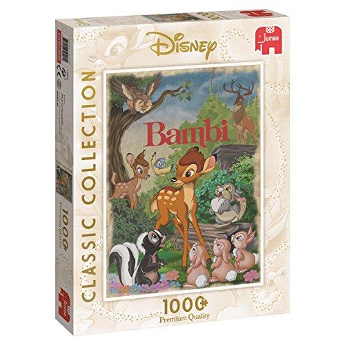 Disney Bambi Movie Poster 1000 pcs Puzzle - Rompecabezas (Puzzle Rompecabezas, Dibujos, Adultos, Niño/niña, 12 año(s), Interior)