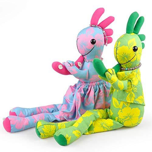【Locopelli】 ロコペリ ウェディング ドール 人形 雑貨 ハワイアン ココペリ ハンドメイド