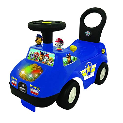 Ak Sport 0706143 – Paw Patrol Chase Police Ride on, antidérapant véhicules