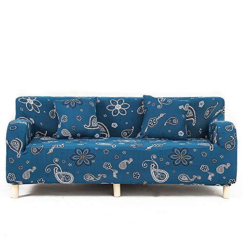 Lunana bankovertrek, antislip, voor bank, stoel, uittrekbaar, tegen mijten, elastisch, rekbaar - 1/2/3-zits