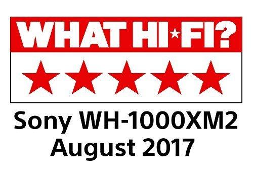 Sony WH-1000XM2 Bluetooth High-Resolution Kopfhörer (Noise Cancelling, kabellos, NFC, Headphones Connect App, bis zu 30 Stunden Akku, Amazon Alexa) schwarz