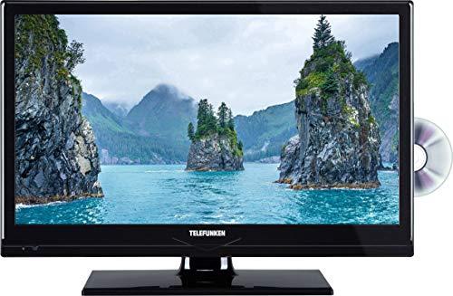 TV LED 20 pollici Telefunken B20H342A Classe energetica A DVB-T2, DVB-C, DVB-S, HD ready, DVD-Player, CI Nero