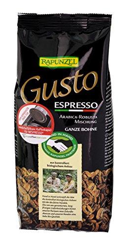 Rapunzel Bio Gusto Espresso allitaliana ganze Bohne HIH (1 x 250 gr)