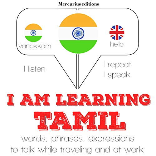 I am learning Tamil cover art