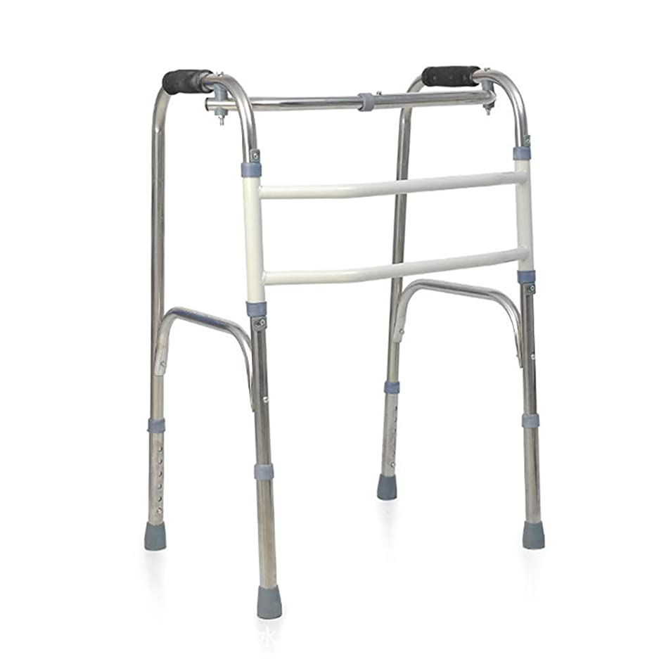 侮辱ペット松非車輪付き折りたたみ歩行フレーム、多機能高齢者歩行ブラケット無効双腕歩行器