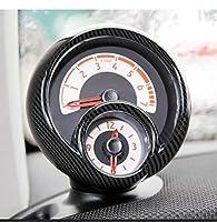 SHIFENG ために Mercedes-Benz Smart ためにメルセデスベンツスマートフォーツー453 2015-2020 車のabsタコメーター装飾フレームトリム( カーボンファイバー )