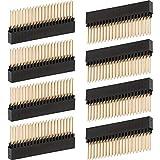 2 x 20 (40 Pin) Extra Hoher Weiblicher 0,1 Zoll Pitch Stacking Header Kompatibel mit Raspberry Pi A+/B+/Pi 2/Pi 3 Extra Hoher Kopf (Packungen von 8)