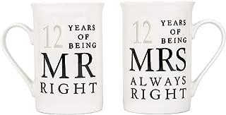 12 year anniversary ideas