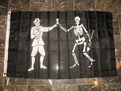 3x5 Bartholomew Roberts Pirate