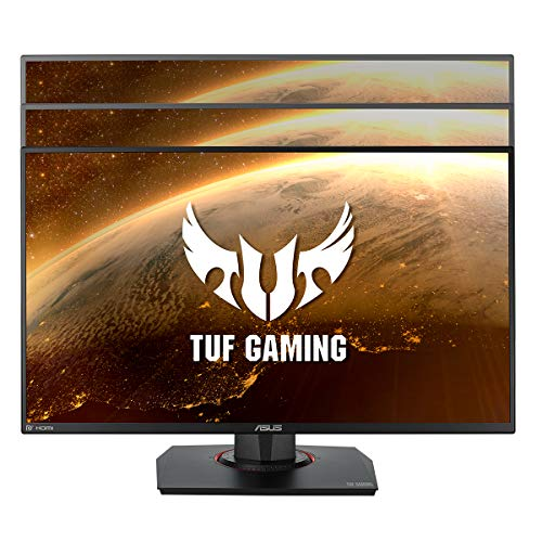 ASUS TUF Gaming VG259QM 62,23 cm (24,5 Zoll) Monitor (Full HD, 280 Hz, Fast IPS, G-Sync compatible, DisplayHDR 400, 1ms Reaktionszeit, HDMI, DisplayPort)