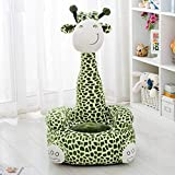 dzzdd Bean Bag Chairs for Kids Giraffe Bean Bag Baby Kids Children Toys Without PP Cotton Filling Material Only Cover