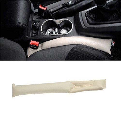 szss-car Universal asiento de coche gap Filler Pad espaciador de freno de mano Funda protectora y ranura enchufe de coche gap Filler acolchado