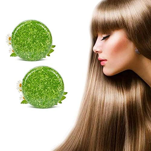 2021 Nieuwe organische haarverdonkerderende shampoobar, Essence Hair Darkening Shampoo-zeep - 100% gemaakt van kostbare planten (D)