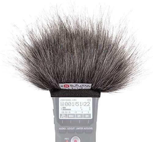 Gutmann Mikrofon Windschutz für Olympus LS-P1 / LS-P2 / LS-P4 Grey