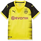 Puma BVB Replica, Camiseta Internacional del Borussia Dortmund para Niño, Amarillo (Cyber Yellow-Puma Black), 176 EU (Talla del Fabricante: 2XL)