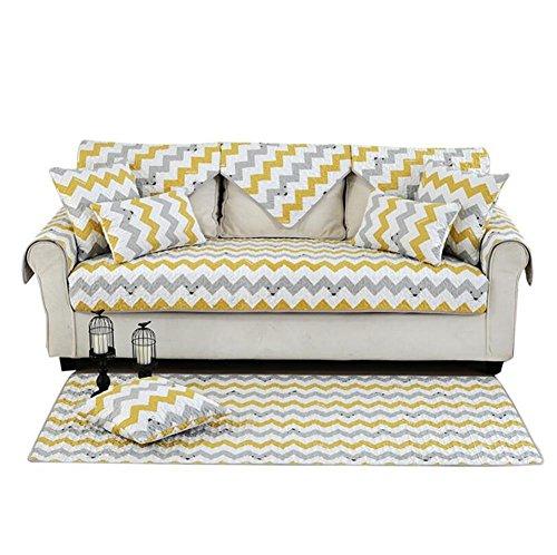 Creative geometría Decorativo sofá Cubierta Resistente Funda para sofá Asiento sofá de diseño Moderno salón, 90 * 120cm