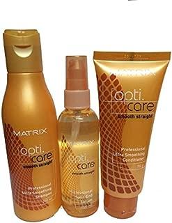 Matrix Opticare Smooth Shampoo (200ml) Conditioner (98 G) Serum (100ml)
