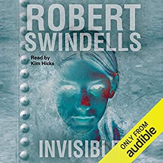 Invisible!                   By:                                                                                                                                 Robert Swindells                               Narrated by:                                                                                                                                 Kim Hicks                      Length: 3 hrs and 36 mins     1 rating     Overall 5.0