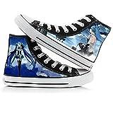 KUNIUO Hatsune Miku Zapatos De Lona para Mujer, Zapatillas De...