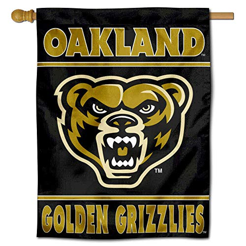 College Flags & Banners Co. OU Grizzlies Double Sided House Flag