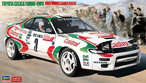 Hasegawa 020401 1/24 - Maqueta de Toyota Celica Turbo 4WD, 1993 Monte Carlo Rally , color/modelo surtido