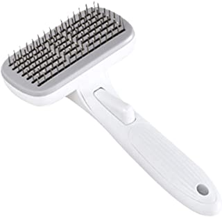 Cat Brush for Shedding, Pet Republique Dog Dematting Tool, Slicker Pet Grooming Brush for Cat and Small Medium Dog, Self C...