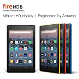 Máy tính bảng Fire HD 8 Tablet (8″ HD Display, 16 GB) – Black (Amazon)