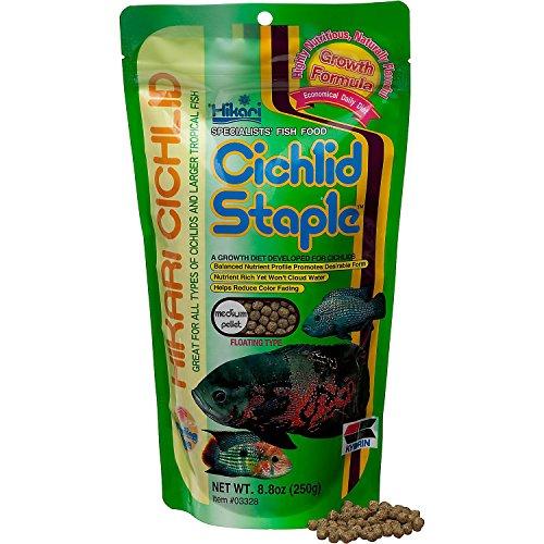 Cichlid Staple 8.8oz - Medium Pellet