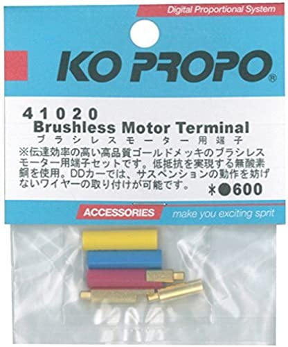 tiempo libre Brushless Motor Terminals Terminals Terminals (3) by Ko Propo  con 60% de descuento