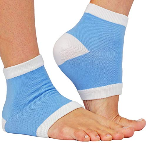 Sunnysam Intensive Moisturizing Gel Heel Sleeves (1325M Cat) (1 Paire Blue Heel Sleeve)