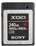 ソニー XQDメモリーカード 240GB QD-G240F