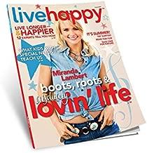Live Happy Magazine (August 2014, Miranda Lambert Cover)